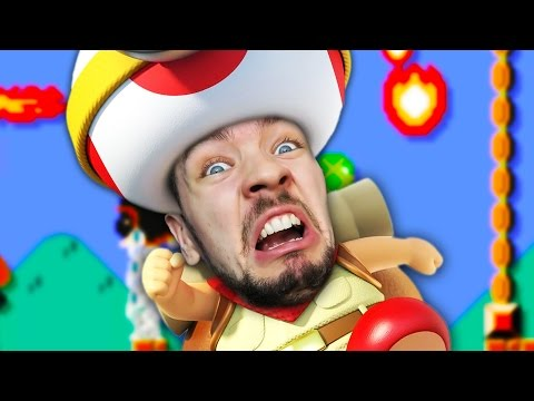 Download LICKING TOADS | Super Mario Maker #16 Screenshots