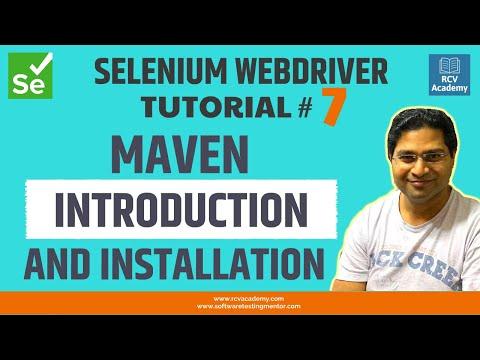 selenium-webdriver-tutorial-#7---maven-introduction-and-installation