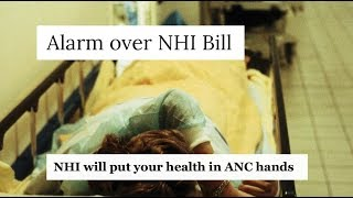 STOP the ANC's National Health Insurance (NHI) Scheme!
