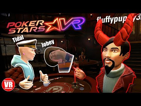 Poker Stars VR - With Jobey, Fluffypuppy, Tidal, And Hummy