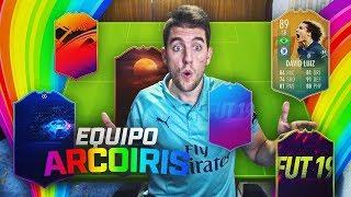 EL EQUIPAZO ARCOIRIS CON DAVID LUIZ FLASHBACK !! | FIFA 19