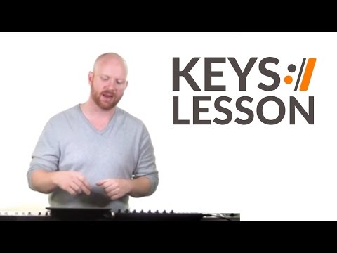 Beautiful One - Jeremy Camp // Keys Tutorial