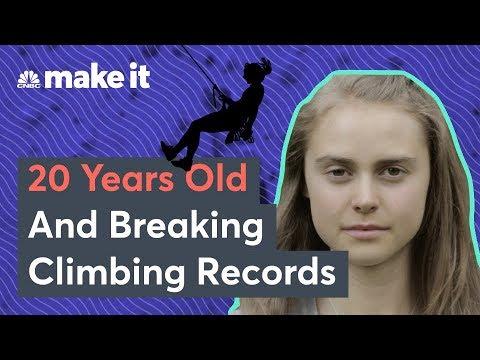 Meet Margo Hayes, 20-Year-Old Rock Climbing Champ
