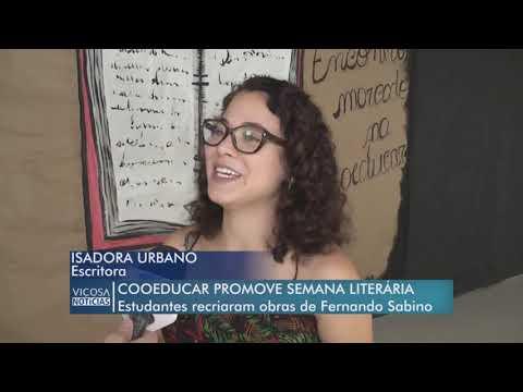 semana-literÁria-da-coeducar-com-isadora-urbano-|-tv-viÇosa-|-2018