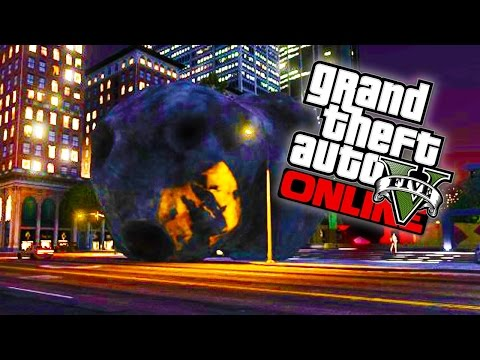 GTA 5 Online - Meteorites, Asteroids & Ferris Wheel's in GTA Online Explained! (GTA V Glitches)