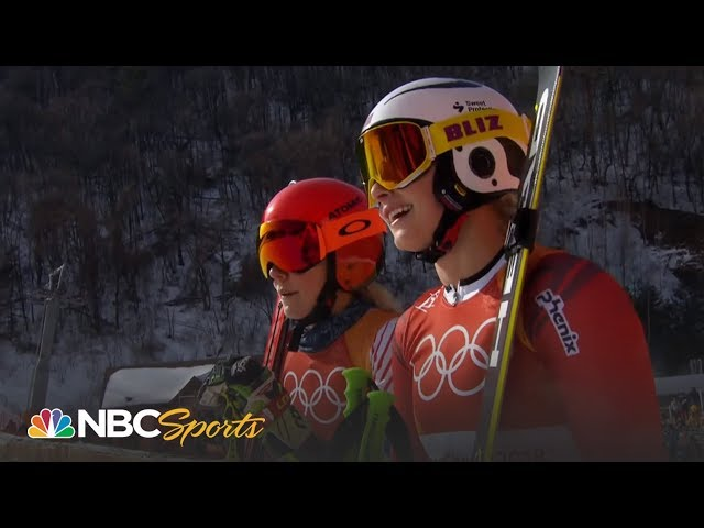 Mic'd up: Listen to Mikaela Shiffrin's gold medal run