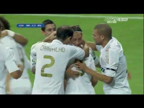 Real Madrid vs Barcelona 2-2 All Goals & Match Highlights (HD 720p) Spanish Super Cup 14/08/2011