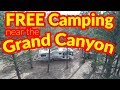 Motorhome RV Living | Free Camping Near The Grand Canyon