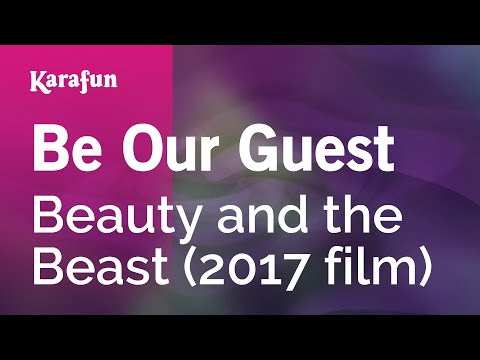 Karaoke Be Our Guest - Beauty and the Beast (2017 Film) *