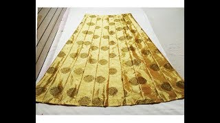 Long Skirt, Ghagra Cutting And Stitching
