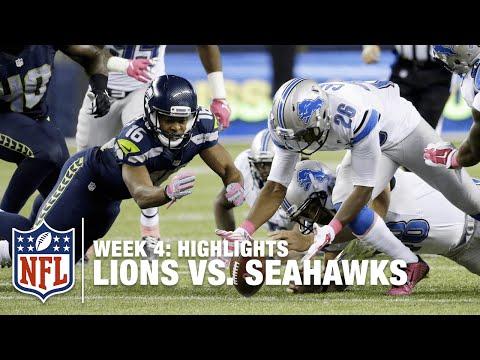 Lions vs. Seahawks | Week 4 Highlights | NFL