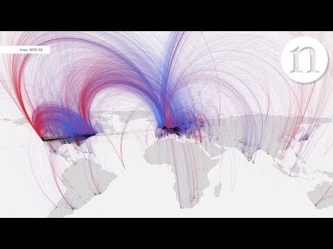 Watch 2,600 years of culture spread across the world in 5 minutes