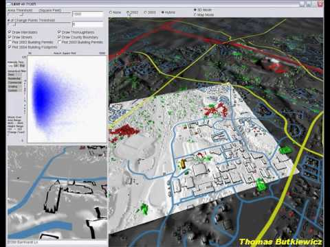 LIDAR change detection software demo