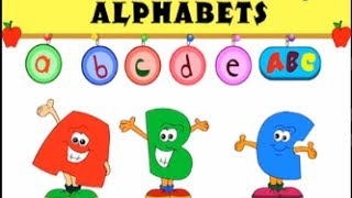 A to Z - Introduction To Capital & Small Alphabets | Nursery Rhymes | Preschool