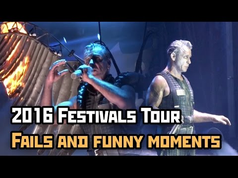 Rammstein - 2016 Festivals Tour // Fails and funny moments Mp3