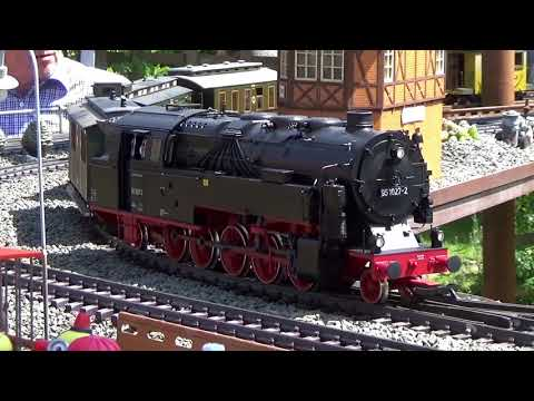 11. Gartenbahn RKB Pfingstfahrtag 2018 Teil 1