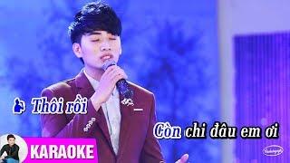 TÌNH LỠ - KARAOKE Beat Chuẩn | Cao Hoàng Nghi