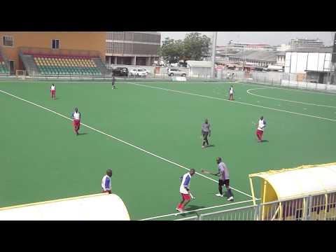 Playing Hockey in Accra, Ghana