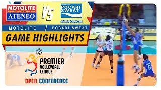 PVL OC 2018: Ateneo-Motolite vs. Pocari-Air Force | Game Highlights | September 23, 2018
