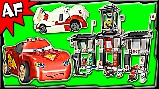 Lego Cars TOKYO International CIRCUIT 8679 Stop Motion Set Review