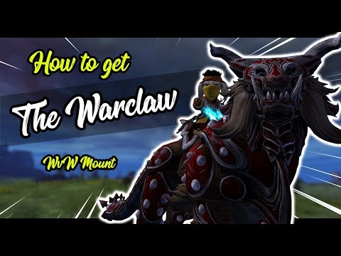 Guild Wars 2  - How To Get The Warclaw Guide (WvW Mount)