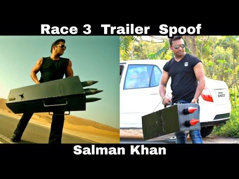 Race 3 Trailer Spoof    Salman Khan    OYE TV