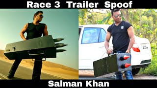 Race 3 Trailer Spoof || Salman Khan || OYE TV