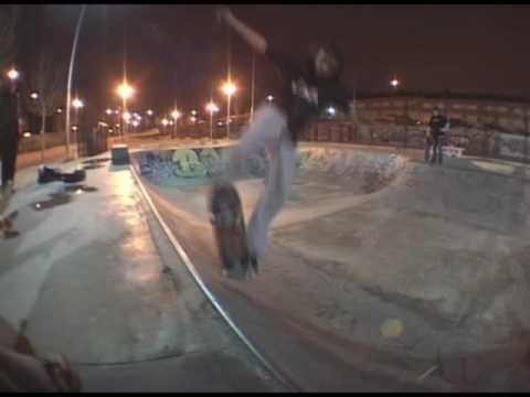 Borja Santiago and friends bonus MADRIDERS skate video