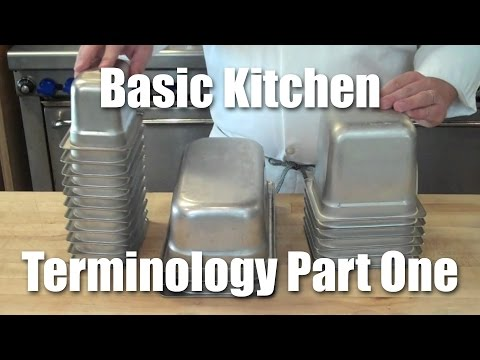 Kitchen Terminology Part One: Service Pans