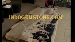 Petrified Wood Dining Table | Madera Mesas De Comedor De FÓsiles