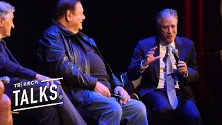 Jon Stewart with the GOODFELLAS cast: They're bad guys but I want to hang out with them streaming
