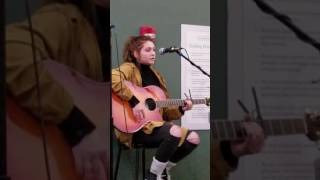 Sarah Moritz- school coffee house performance