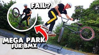 BMX FAHREN im MEGA KRASSEN PARK 😱