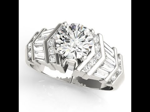 brilliant-round-cut-diamond-engagement-ring-with-baguette-diamonds-on-the-side