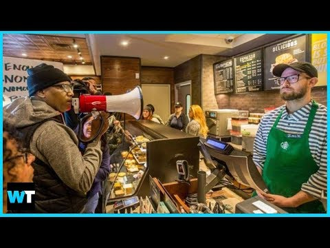 Is Starbucks Racist? Protesters Shut Down Store Where Black Men Arrested | What\'s Trending Now!