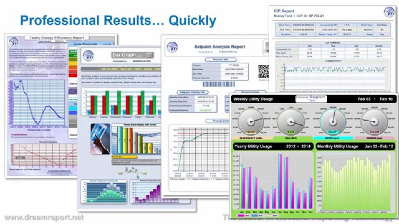 introduction to dream report for industrial reports and