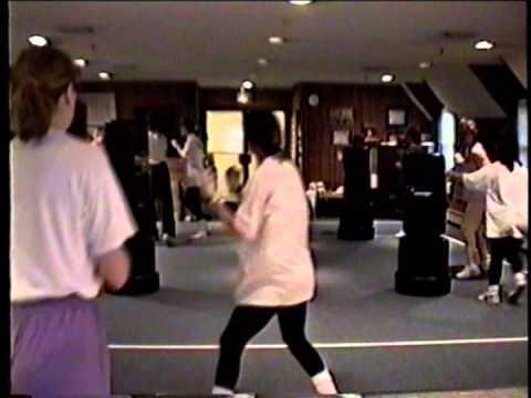 1st Fitness Kickboxing Class dec 1996