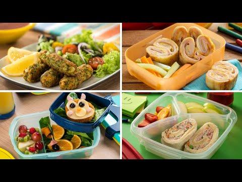 4 Lunchs para Niños