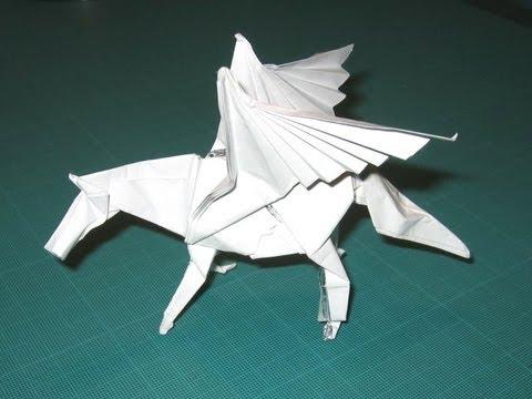 Origami Pegasus By Satoshi Kamiya Time Lapse