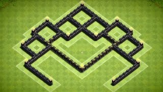 Clash of Clans - Best Town Hall 6 Mini Southern Teaser Trophy Base (Artifice) Speed Build