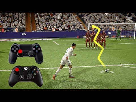 FIFA 18 Knuckleball Power Free Kick Tutorial