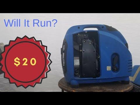 Will It Run ETQ IN3500I Generator Resurrection Part 1