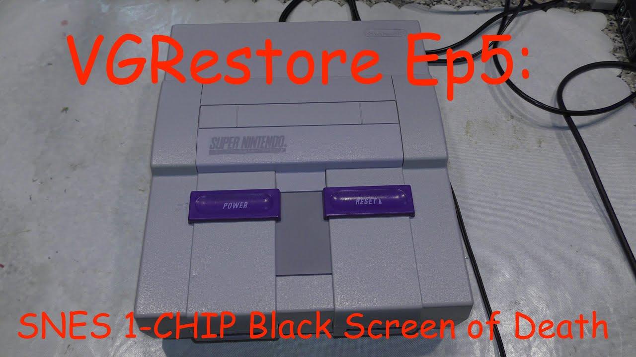 VGRestore Ep5: SNES 1-CHIP Black Screen of Death