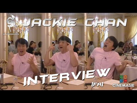 Jackie Chan Interview [FR - Paris - 2005]