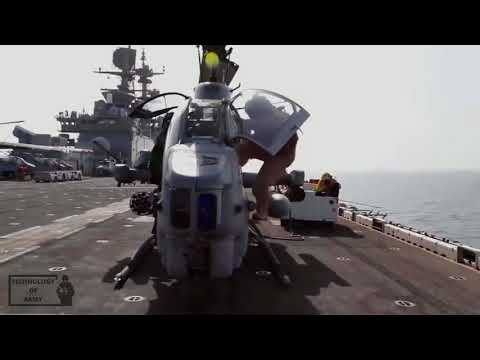 Preparing And Arming Mythical Bell Ah-1 Super Cobra,ultra Effective Attack Helicopter