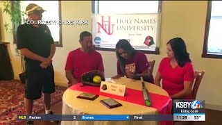 Paso Robles' Alyssa Valle signs with Holy Names University