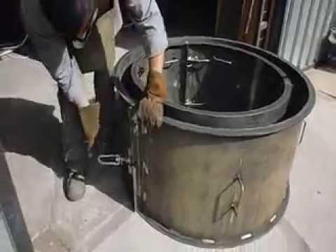 Anillos met licos sustainable world youtube for Moldes para pavimentos de hormigon