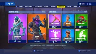 *NEW* ITEM SHOP SKINS COUNTDOWN! January 5th New Fortnite Skins LIVE! (Fortnite Item Shop Live)