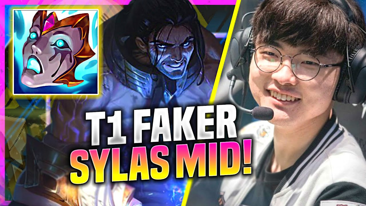 FAKER IS SO STRONG WITH SYLAS! - T1 Faker Plays Sylas Mid vs Akali! | Preseason 11