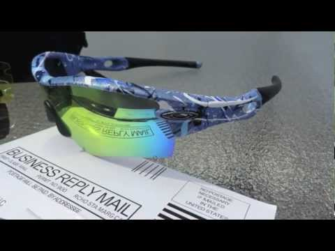 Rare Custom Painted Splatter Oakley Sunglasses